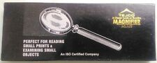 BRANDED STEEL MAGNIFYING GLASS - 50 MM ( For Study Coins,Stamps & others)