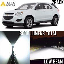 Alla Lighting Low Beam Headlight Bright White LED Bulbs for Chevy Suburban Tahoe