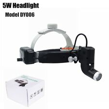 5w Dental LED Surgical Headlight Good Light Spot Headband ENT Specific Headlamp