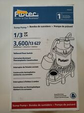 Flotec FPZS33T - 1/3 HP Thermoplastic Submersible Sump Pump