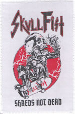 Skull Fist Survêtement patch Shreds Not Dead Courroies écusson-Canadian SPEED METAL
