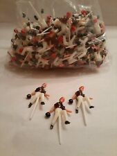 Lot Of Vintage Bowler Picks/toppers For cupcakes, bowling toppers