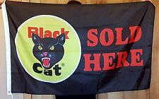 Black Cat Fireworks 3x5 ft Polyester Flag 4th of July Independence Day sold here