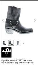 Frye Harness 8R Woman's slip on biker boot size 7
