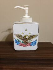 VINTAGE AMERICANA L.W. Rice & Co. Inc. AMERICAN EAGLE Lotion Dispenser AWESOME