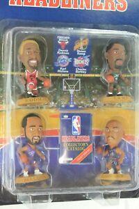 NBA Headliners Forwards 4 Pack Rodman Kemp Malone Barkley Figures- Corinthian