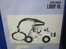 Volvo L180F HL High Lift Wheel Loader Service Manual
