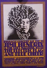 Jimi Hendrix | 1968 | Shrine Auditorium, La | 3rd Print 1998 Handbill