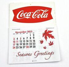 Coca Cola Coke USA Kalender 2014 Calendar - Fishtail Logo rot