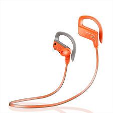 Waterproof Wireless Bluetooth Sports Stereo Headset Headphone Earphone Earbuds