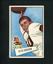 1952 Bowman LARGE # 2 Otto Graham EX cond Cleveland Browns