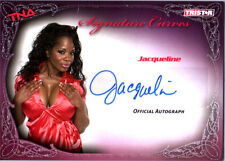 TNA Jacqueline 2009 Knockouts Signature Curves SILVER Autograph Card