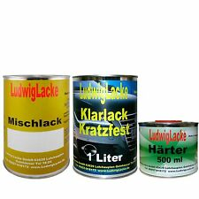 Autolack 2,5 Liter Set  Klarlack Härter Wunschfarbe spritzfertig von Ludwiglacke