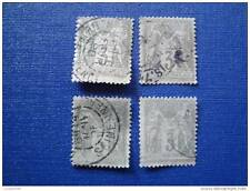 FRANCE timbre stamp yt n°87 x4 obl (T)