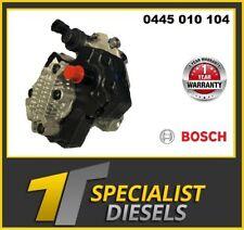 Bosch high pressure fuel pump 0445010104 Jeep 2.8 CRD ENR 35022098F