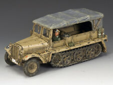 King And Country Soldiers AK097 WWII Afrika Korps Sd.Kfz.10 Demag