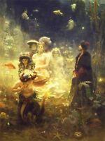 Ilya Yefimovich Repin Repin Sadko Old Master Art Painting Canvas Art Print