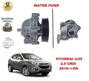 FOR HYUNDAI ix35 2.0 CRDi 2010 >ON WATER PUMP