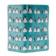 PENGUINS AQUA ZIP AROUND ORGANIZER  WALLET SHAGWEAR NWT & GIFT BOX