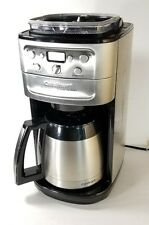 CUISINART GRIND BREW DGB-900BC STAINLESS 12 CUP COFFEE MAKER S/S THERMAL CARAFE