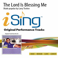 Bishop Larry D Trotter & Friends - The Lord Is Blessing Me - Accompaniment Track