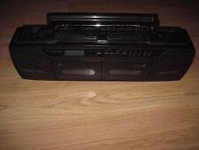 DAK Industries MRC5000 AM/FM/SW1/SW2/Dual Cassette Mini Boombox/Ghetto Blaster