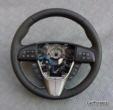 LENKRAD für Mazda 3 und 6 BJ. 2008-2010 Leder GLATT/GELOCHT Daumen