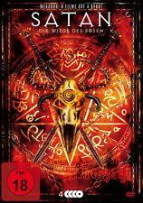 4 DVDs * SATAN - DIE WIEGE DES BÖSEN  ~ FSK 18 # NEU OVP %