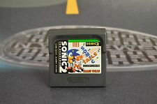 SONIC THE HEDGEHOG 2 JAP JP SEGA GAME GEAR COMBINED SHIPPING