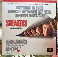 Sneakers (1992) Laser Disk Robert Redford Dan Aykroyd Ben Kingsley