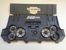 Gi joe part DEFIANT 1987 Crawler Gantry BLAST SHIELD WITH FLAP UNBROKEN