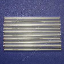 10Pcs/Lot 200mm,Glass Blowing Tube,OD 10mm,1.5mm Thcikness,Made By Borosilicate