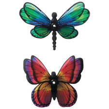 Cake Toppers Set Dragonfly and Butterfly Cake Topper Set of 2