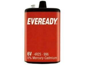 Brand new PJ996 Batteries - Eveready PJ996 4R25 6V Lantern Battery | 1 Pack
