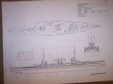 sms goeben  ship boat model boat plan