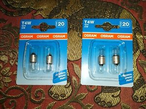 TRIUMPH TR7 DOLOMITE SPITFIRE MG MIDGET MGB - SIDELIGHT NUMBER PLATE BULBS LAMPS