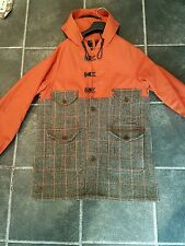 Nigel Cabourn jacket Cameraman Coat Harris Tweed Mackintosh pic show condition
