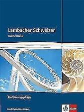 Lambacher Schweizer - Ausgabe Nordrhein-Westfalen - Neubearbeitung / Einführung…