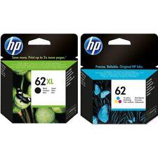 Genuine HP 62XL Black & 62 Colour Ink Cartridges For Envy 7640 VAT included