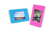 Fujifilm Instax Mini Film Picture Frames (Pink & Blue ~ 2-Pack)