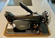 Semi-Industrial Singer 201K Elec Sewing Machine - Stunning Collectible Condition