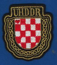 CROATIA ARMY PATCH UHDDR- Association of Croatian Homeland War Volunteers 1993 !