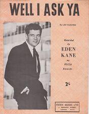 Beh, mi chiedo YA-EDEN Kane - 1961 SPARTITI MUSICALI