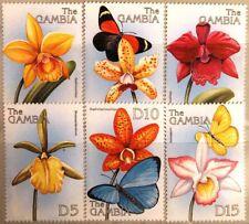 GAMBIA 1999 3367-84 Orchideen Orchids Blumen Flowers Flora Pflanzen Plants MNH
