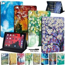 Leather Smart Flip Case Stand Cover For Apple iPad /Mini /Air /Pro Tablet + Pen