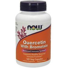 NOW Foods Quercetin With Bromelain - 120 Vegetarian Capsules