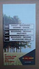 ► TEC Namur, 1 guide horaire ligne 141-241-341 - Dinant - Beauraing - Gedinne