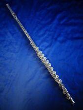 Kinder Querflöte Kinder 2x Silberkopf  gebogen gerade  Flute for children
