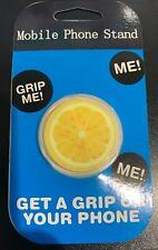 Lemon Slice Phone Holder Grip socket Mobile Stand Pop Out Socket