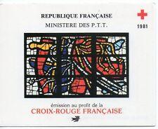 Carnet Croix Rouge N° YT 2030 de 1981